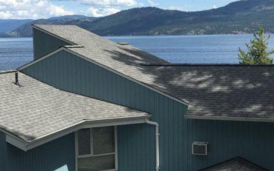 Okanagan Lake Vernon B.C. We know roofs